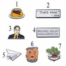 Load image into Gallery viewer, C579 1 Pcs Funny Metal Enamel Pins and Brooches for Women Fashion Lapel Pin Backpack Bags Badge Gifts