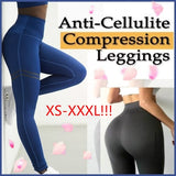 Women High Waist Anti-Cellulite Compression Slim Leggings Control and Running Yoga Sport Para Mujer XS-3XL