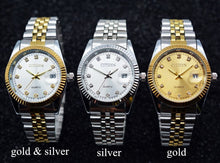 Load image into Gallery viewer, CITIZEN Quartz Watch Men Stainless Steel Band Gold Wrist Watch