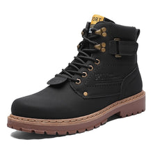 Load image into Gallery viewer, Fashion Large Size High-top Tooling Boots Casual Martin Boots Men's Shoes