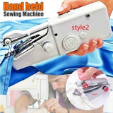 2019 Mini Handheld Stitch Household Portable Modern Travel Home Electric Sewing Machine(Style1:Manual Sewing Machine / Style2:Electric Sewing Machine)