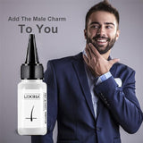 20ML Beard Axillary and Chest Hair Growth Fluid Essential Fluid Longer and Thicker,Being A Ture MAN