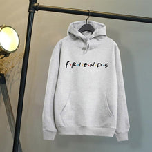 Load image into Gallery viewer, Women Friend Hoodies Women's Fashion Winter Autumn Printed Letter Friends Hooded Casual Long Sleeve Sweatshirts Loose Pullover with Pocket