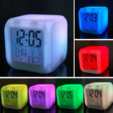 Cool Marshmello DJ Alarm Clock Boys Girls Night Light LED Alarm Clock Children Kids Cute Bedroom Clock