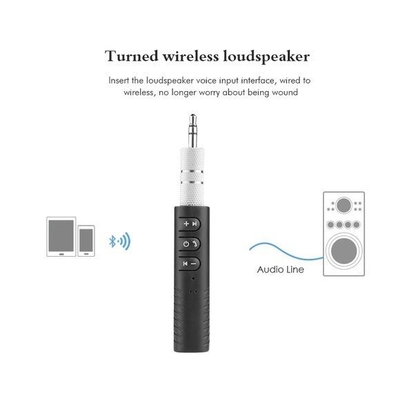 Universal 3.5mm Jack Wireless Bluetooth Receiver Stereo Audio Music Bluetooth Receiver Adapter for Speaker Car Aux Hands Free Kit