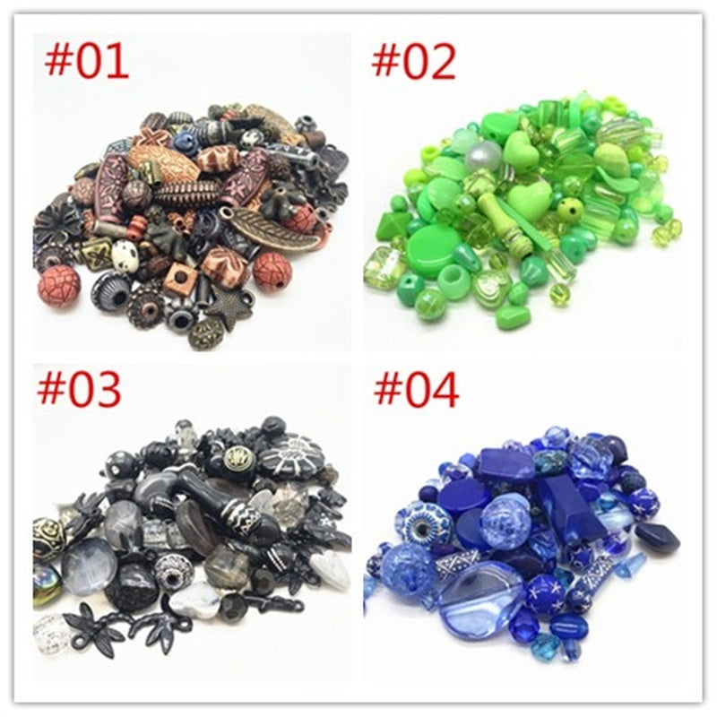 New 20g Acrylic Beads mixing Beads Style for DIY Handmade Bracelet Jewelry Making Accessories Wholesale
