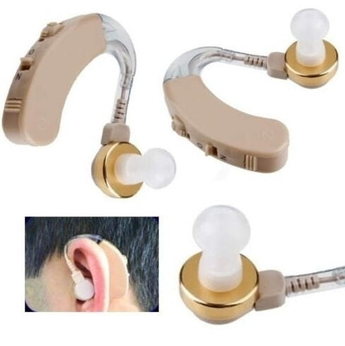 2pcs/1pcs Adjustable Ear Sound Amplifier Volume Tone Listen Hearing Assistance Aid Kit JZ-1088A