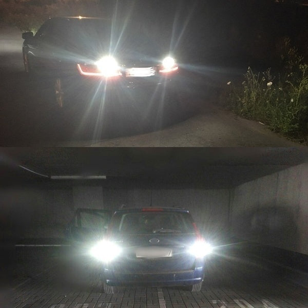 1pc high quality 100W Cree Led Car Fog Light H4 H7 8000K White Light Super Bright Daytime Driving Light