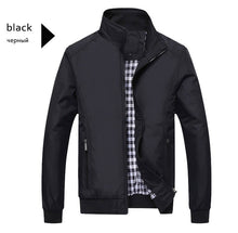 Load image into Gallery viewer, Men's Casual Jacket Fashion Sportswear Zipper Bomber Jacket Mens Jackets Coats