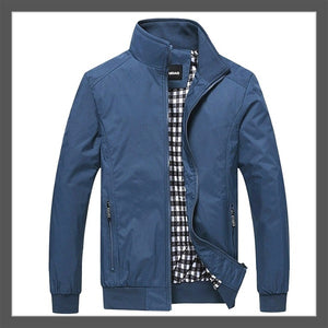 Men's Casual Jacket Fashion Sportswear Zipper Bomber Jacket Mens Jackets Coats