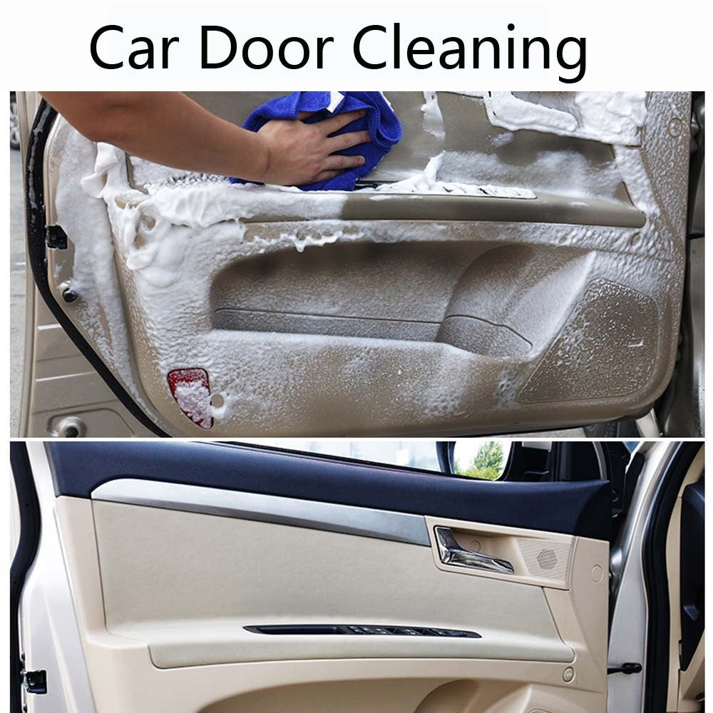 HGKJ Car Interior Cleaning Foam Dry Cleaner Stains Remover Auto Interior Detailing