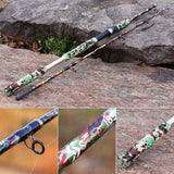 Sea Fishing Rod 1.65M Carbon Fiber 2 Sections Spinning Rod Sea Bass Inshore Freshwater Saltwater Fishing Pole Rod