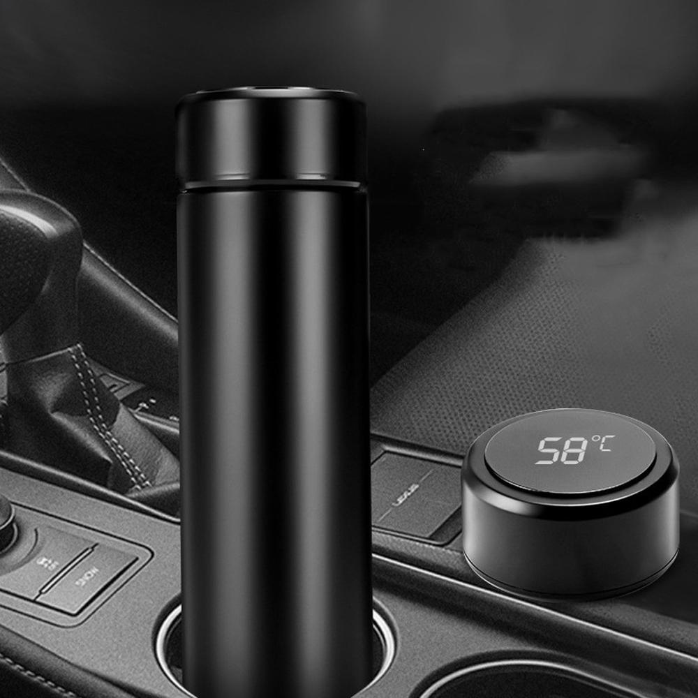 Intelligent Thermos Coffee Bottle Temperature Display