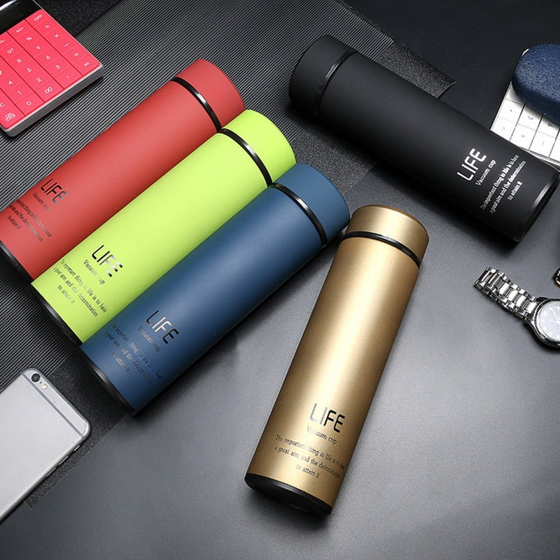 Vacuum Flask with Filter Stainless Steel