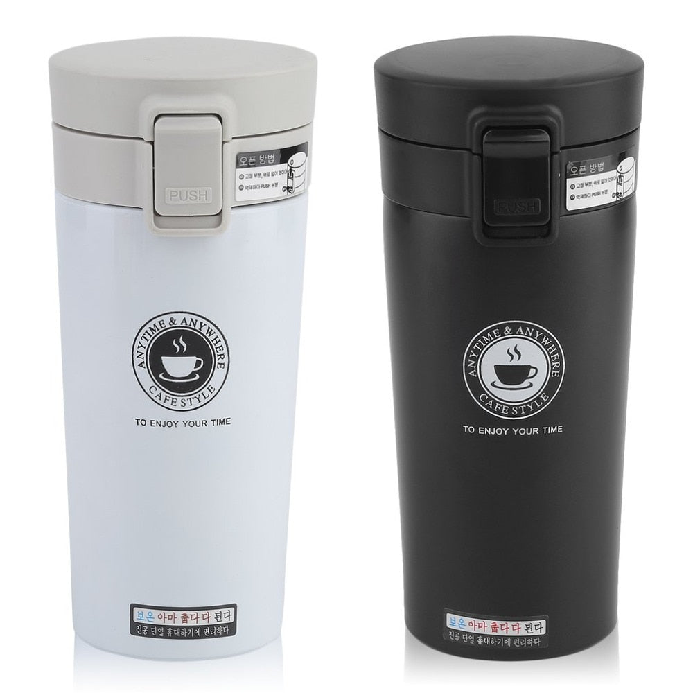 Leak-proof Stainless Steel Travel Mug