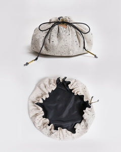 Luxe Drawstring Utility Bag