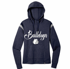 Bulldogs Heathered Navy Pullover Hoodie