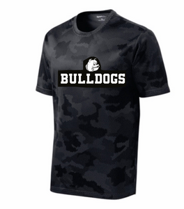 Bulldogs Grey Camo Short Sleeve T-shirt
