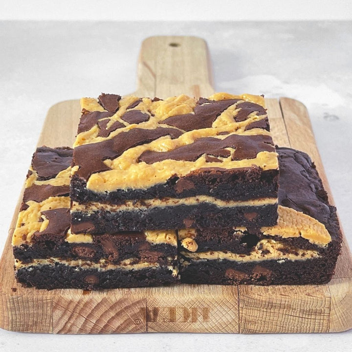 Wildwood Bakes Peanut Butter Brownie Postal Brownies