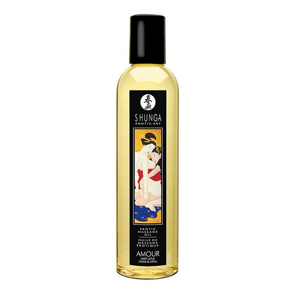 Massage Oil Lotus Flower Shunga 10238 (250 ml)