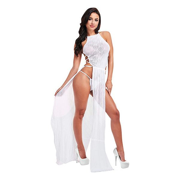 Dress Sexy Lace Lapdance White