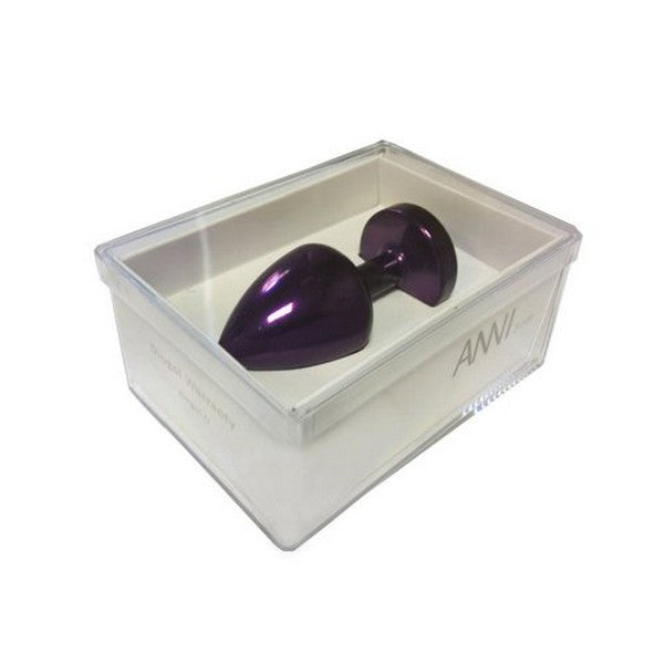 Anni Butt Plug Round Purple 35 mm Diogol 70185