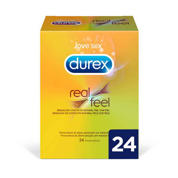 Real Feel Condoms Durex (24 uds)