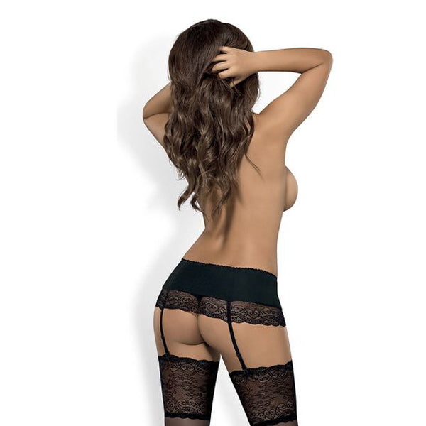 Suspender Miamor Obsessive Black