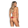 Leotard Giftella Teddy Obsessive Red