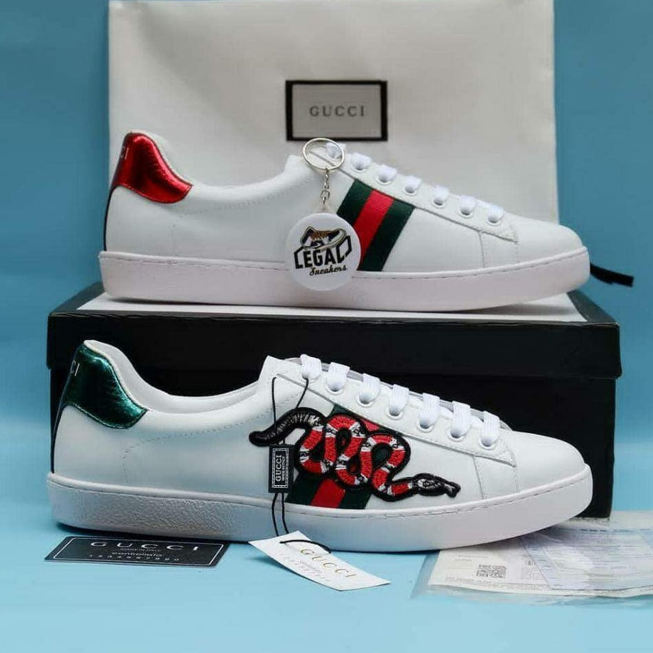 copy Gucci Premium Sneakers Snake shoes