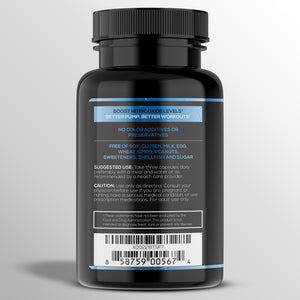 Load image into Gallery viewer, Extra Strength L-Arginine 1500mg - Nitric Oxide Supplement for Stamina, Muscle, Vascularity & Energy - Powerful NO Booster with L-Arginine, L-Citrulline & Essential Amino Acids