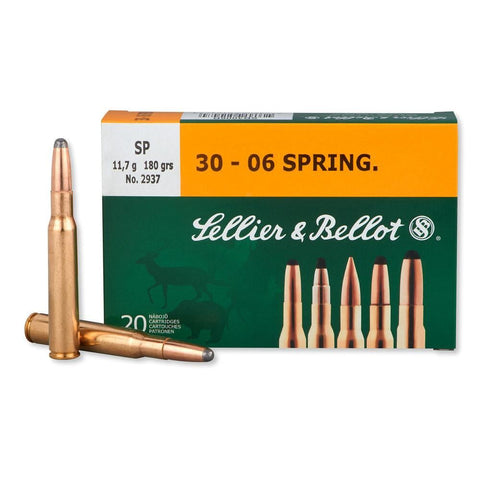 30-06 Springfield 180gr Soft Point