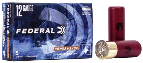 "12 Gauge 00 Buck 2.75"" Power Shok"