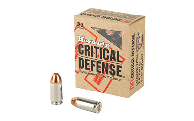 45ACP 185gr FTX Critical Defense