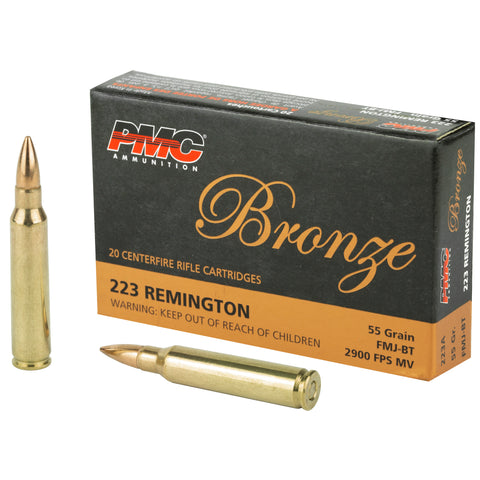 223 Remington 55gr FMJ