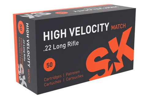 22LR 40gr SRN High Velocity Match