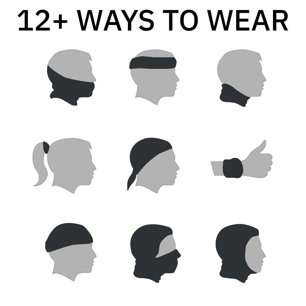 12+ Ways to Wear Your Neck Warmer | Keeb Nerd