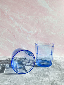 Blue Rocks Glasses - Set of 2