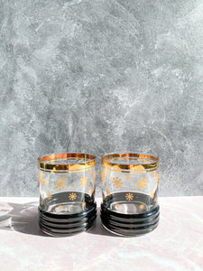 Snowflake Whiskey Glasses - Set of 2