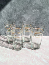 Load image into Gallery viewer, Floral Highball Glasses - Set of 4