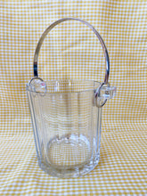 Load image into Gallery viewer, Vintage Silver & Glass Ice Bucket