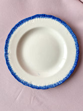 Load image into Gallery viewer, Blue & White English Ceramic Dessert Plates - Set of 4
