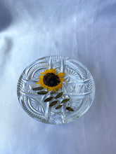 Load image into Gallery viewer, 'Sunflower and Sweet Pea I' Crystal Catchall