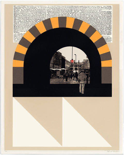 Evan Hecox - London Tunnel Print