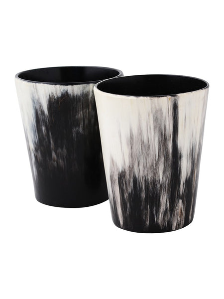 Ankole Horn Whiskey Tumbler (Set of 2)