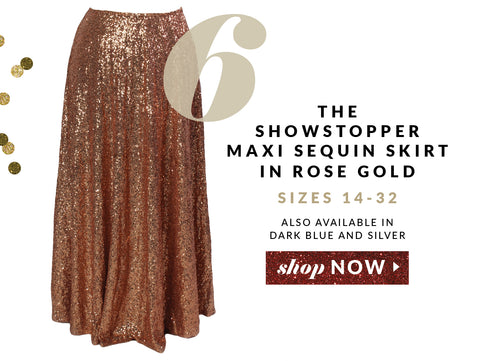 plus size fashion, holiday, sequins