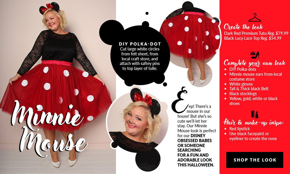Plus Size Minnie Mouse Costume – Society Plus