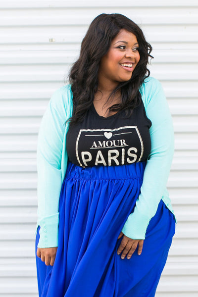 Plus Size Clothing for Women - Chronicles of Chic Cardigan - Mint - Society+ - Society Plus - Buy Online Now! - 1