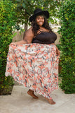 Plus Size Clothing for Women - Twirl Maxi Skirt with Pockets - Salmon - Society+ - Society Plus - Buy Online Now! - 5