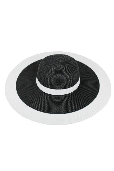 Plus Size Clothing for Women - Derby Darling Wide Brim Hat - Black - Society+ - Society Plus - Buy Online Now! - 2